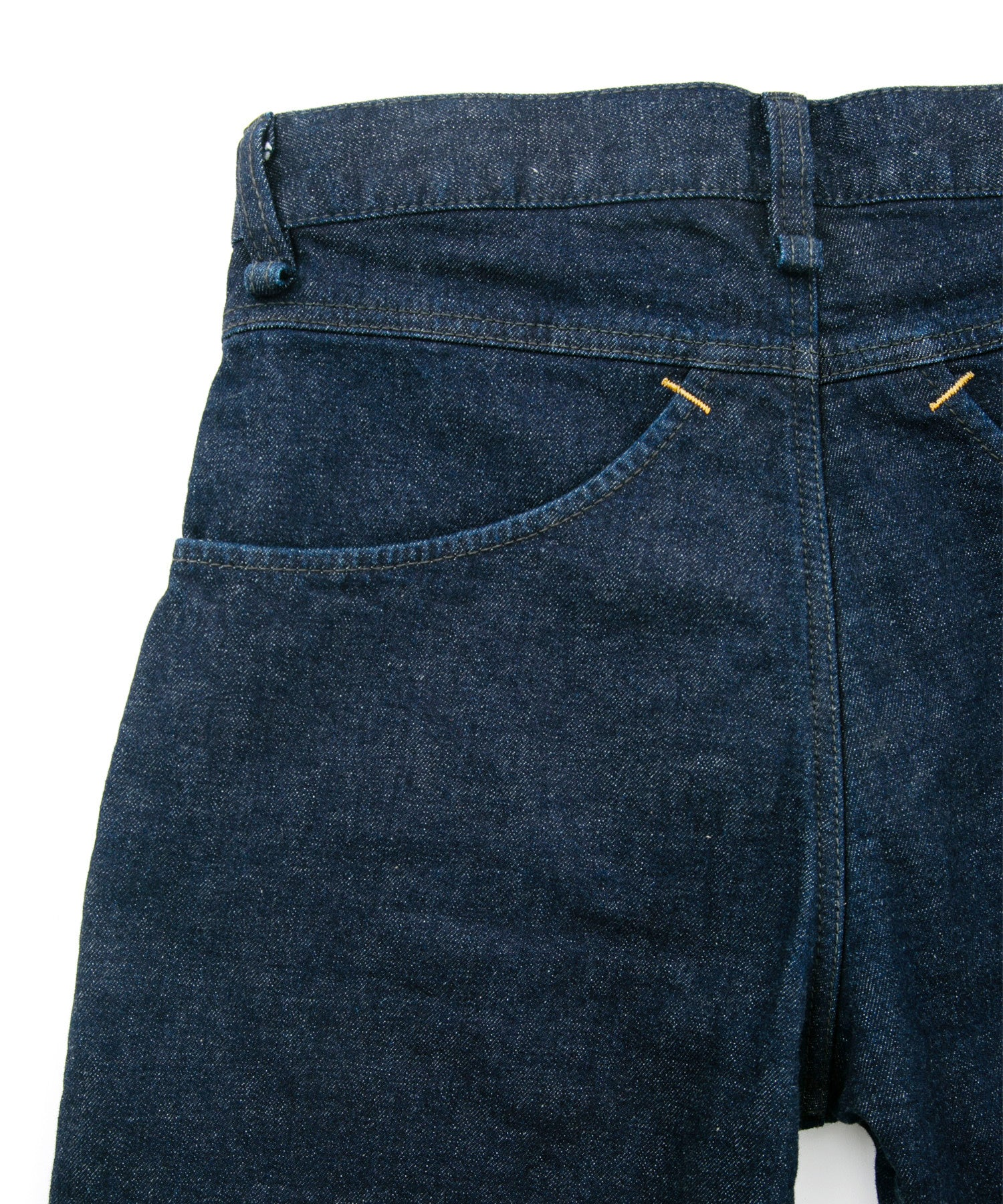 Load image into Gallery viewer, 12.5oz Organic Cotton Stretch Denim Cropped Jeans One Wash / INDIGO