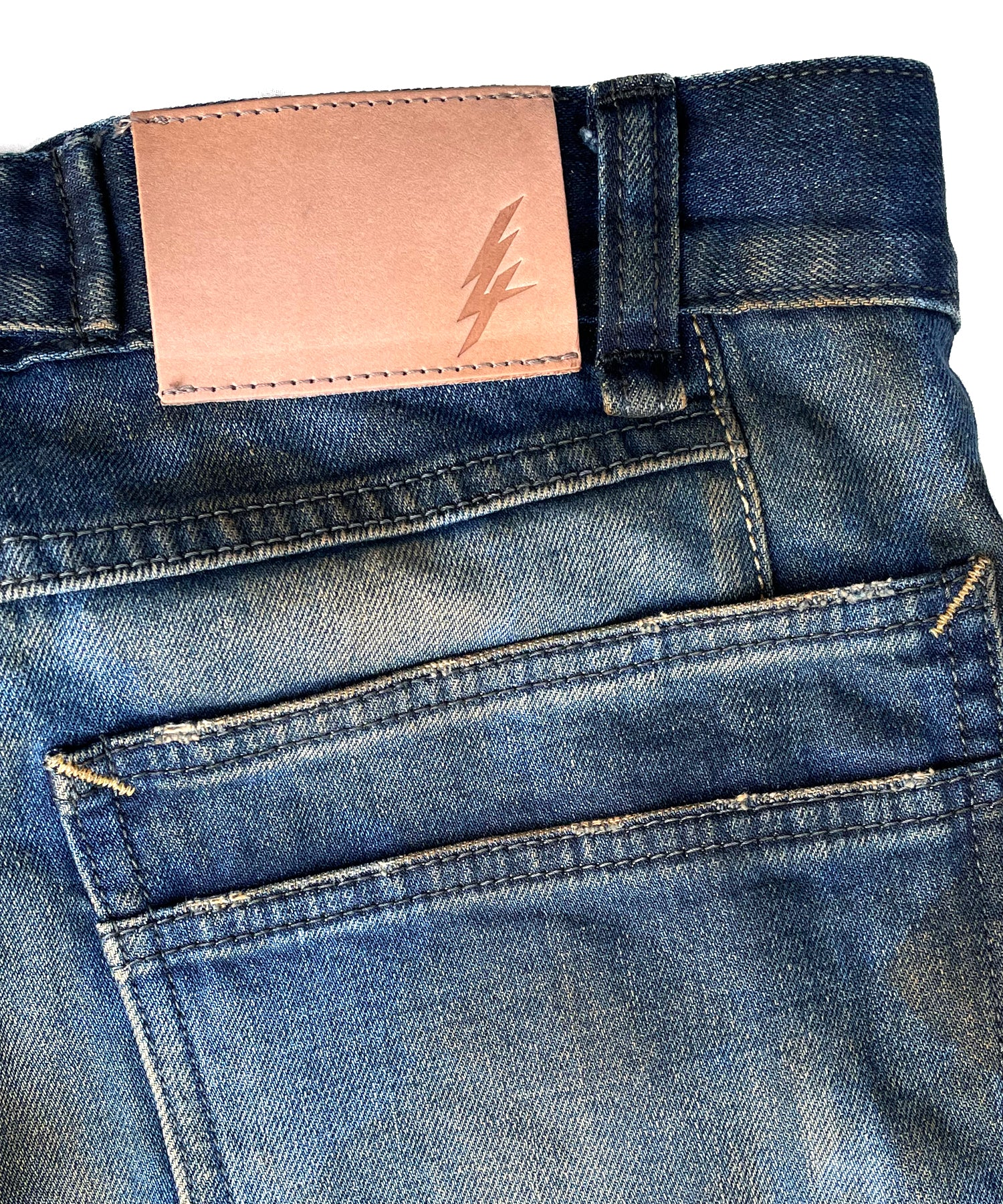 将图片加载到图库查看器,Limited to 2 stores 12.5oz Organic Cotton Stretch Denim BOXY IGGY Box Wide Straight Burnyard Processing / INDIGO