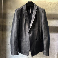 Load image into Gallery viewer, Domestic Calf Skin Tailored Jacket