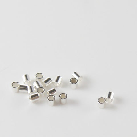 Crimp Beads-Tube 2x2mm
