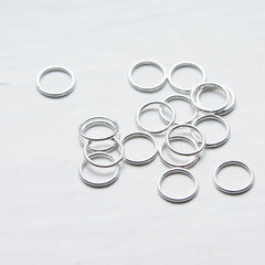 CLOSED Sterling Silver Jump Rings (21 Gauge)