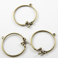 Base Metal Charms-32x29mm (11095Z)
