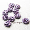 Acrylic Cabochons - Flower 14mm (11F)