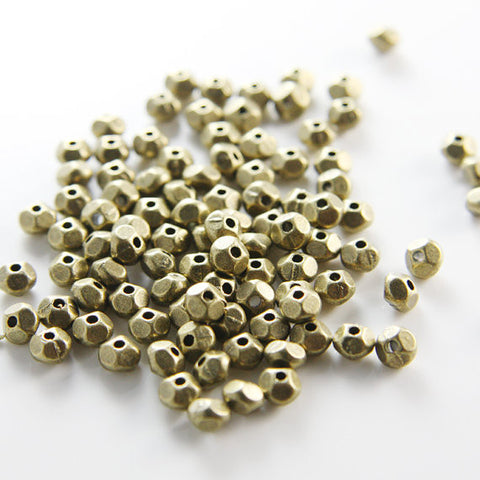 Base Metal Spacers-5x3mm (1221X)