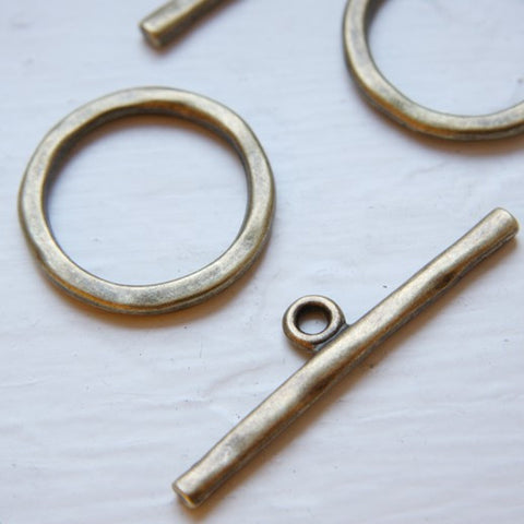 Base Metal Clasps-Toggle (12350Y)