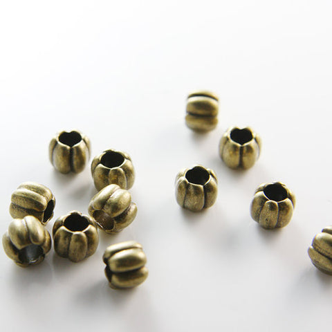 Base Metal Spacers-9x8mm (14512Y)