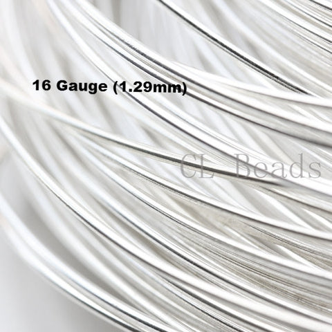 Half Hard Sterling Silver Round Wire