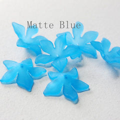 Flower-Shaped Acrylic Beads-Flower 27mm (17A)