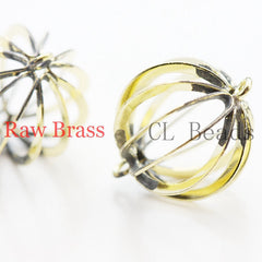 Brass Base Ball - Link 19x14mm (1852C)