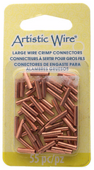 Beadalon Large Wire Crimp Tubes for 16 Gauge - 10mm