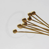 Ball Pin Brass Base Head Pins-50x0.7mm (3451C)