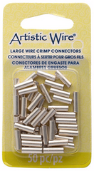 Beadalon Large Wire Crimp Tubes for 12 Gauge - 10mm