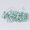 25 Grams Czech Rocailles Preciosa 6/0 Seed Beads - Luster Transparent Green-Size 6