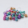 25 Grams Czech Rocailles Preciosa 6/0 Seed Beads - Metallic Multi - Size 6 (PS0093)