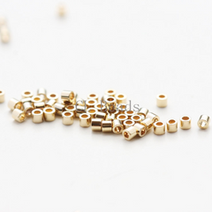 Japanese Miyuki Delica 24K Gold Plated Beads - Light Gold