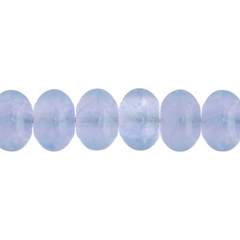 100 Pieces Czech Glass Donut Beads - Light VIOLET 8mm (PG9700014)