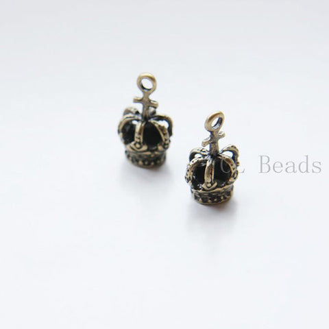 Base Metal Charms-Crown 20x12mm (20227Y)