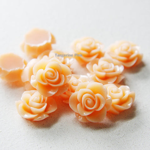 Acrylic Cabochons - Flower 20mm (2F)