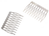 White Gold Tone Hair Comb