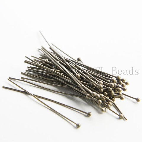 Brass Base Ball Head Pins-38mm (1.5 Inch) (373C)