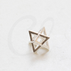Brass Base Charm - Geometric 11.8mm (1099C)
