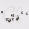 Base Metal Spacers-Saucer 5x4mm (300Y)
