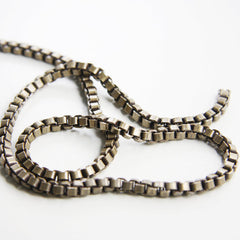 Brass Base Chains-Box 4mm (419C)