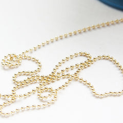 Brass Base Ball Chains - 2mm (425C)