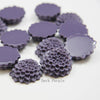 Acrylic Cabochons - Flower 21mm (60F)