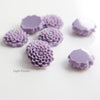 Acrylic Cabochons - Flower 14mm (7F)