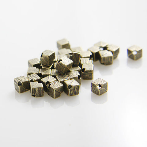 Base Metal Spacers - Square 5mm (8030Y)