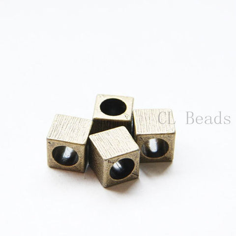 Base Metal Spacers-Cube 10x10mm (8051Y)