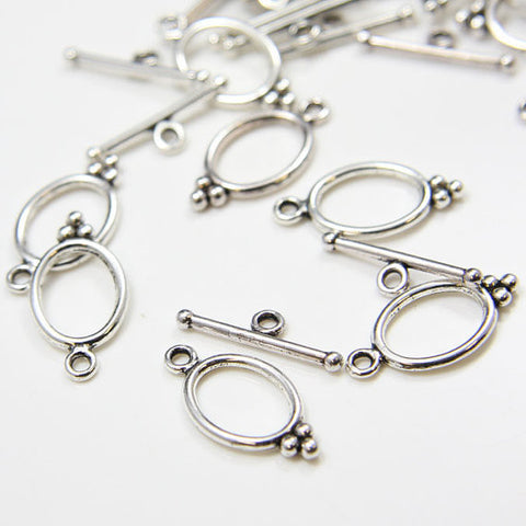 Base Metal Toggle Clasps (8418Y)