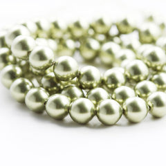 Swarovski 5810 Crystal Pearl-Light Green