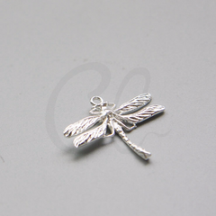 Brass Base Charm - Dragonfly 25x23mm (10517Z)