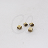 Brass Base Spacers - Rectangle 4x4x2.5mm (492C)