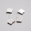 Base Charm - Clover with Rhinestone 13x11mm (665Z)
