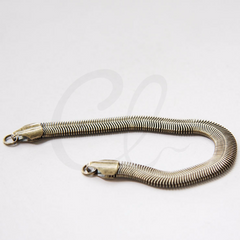 Hand Linked Finished Chain- Snake 155x8mm (HKSNBD8)