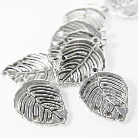 Base Metal Charms-Leaf 30x21mm (1632Y)