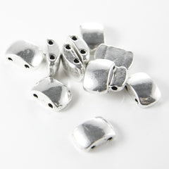 Base Metal 2 Hole Spacers-14x9x5mm (8659Y)