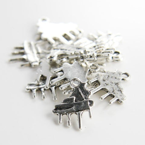 Base Metal Charms-Piano 20x15mm (1074X)