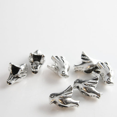 Base Metal Spacers-Bird 16x11mm (11418Y)