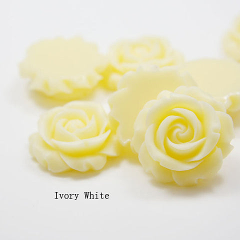 Acrylic Cabochons - Flower 30mm (F0012)