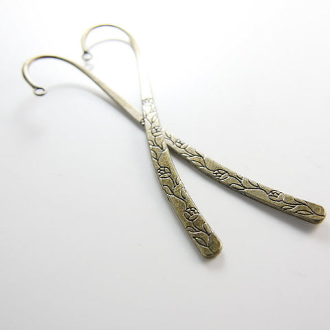 Base Metal Bookmarks-120x24mm (1678Y)