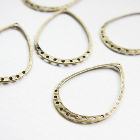 Base Metal Earring Findings-46X31mm (26364Y)