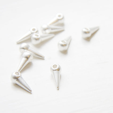 Base Metal Spacers-Conical or Spikes 13x4mm (1199Y)