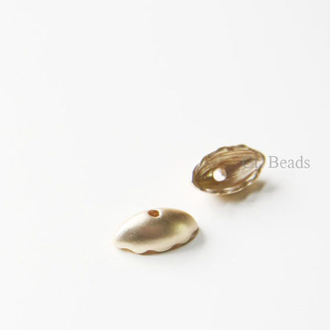 Base Metal Bead Cap - End Caps 5x8x15mm (154C)