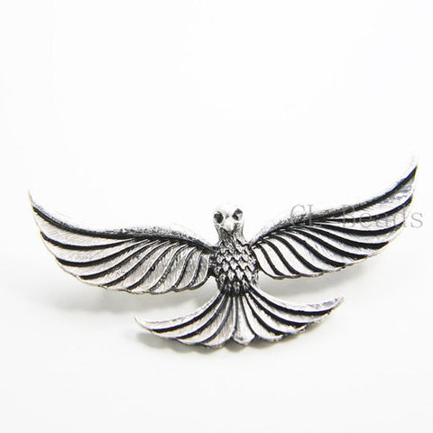 Base Metal Pendant - Eagle 30x61mm (194C)