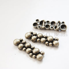 Base Metal 2 Hole Spacers-38x13mm (9603Y)