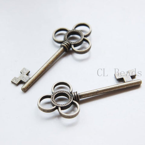 Base Metal Charms-Key 53x23mm (15986Y)